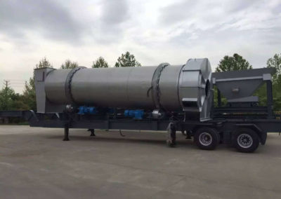 mobile asphalt plant in UAE