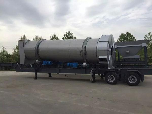 UAE mobile asphalt plant