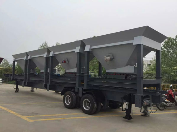 mobile asphalt plant for UAE