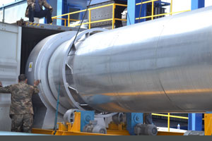 asphalt mixing plant dryer