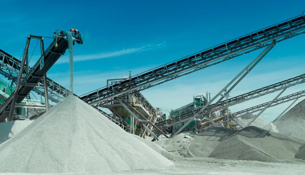 Sources of aggregates in santai asphalt plant