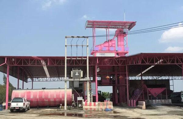 Thailand clients' santai asphalt plant