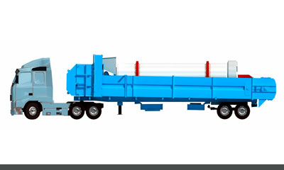 mobile asphalt plant dryer