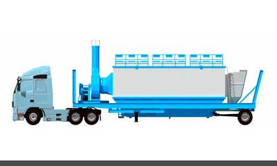 mobile asphalt plant mixer