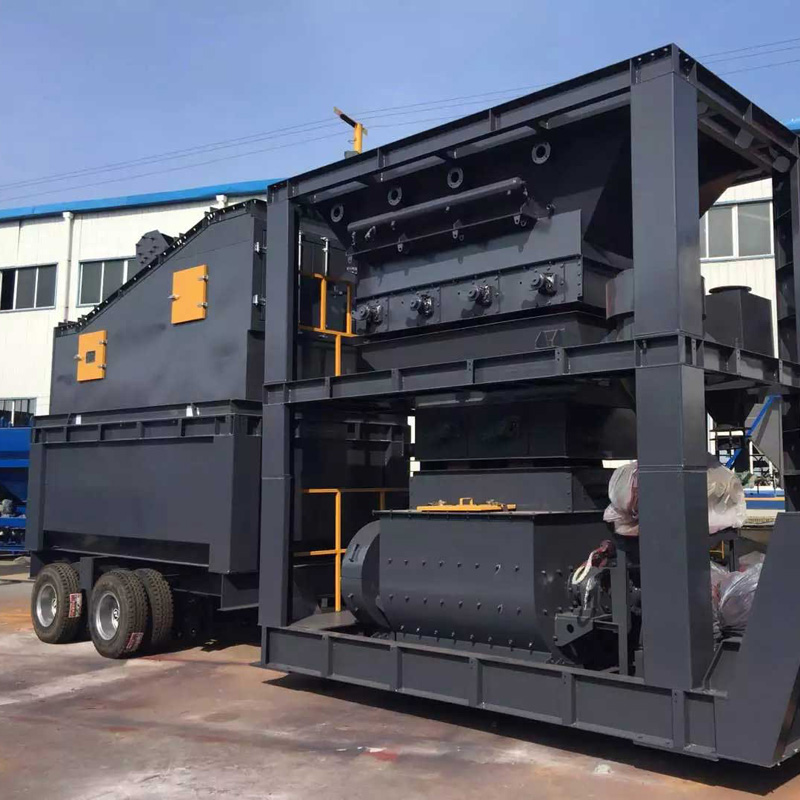 mobile hot mix asphalt plant manufcturer
