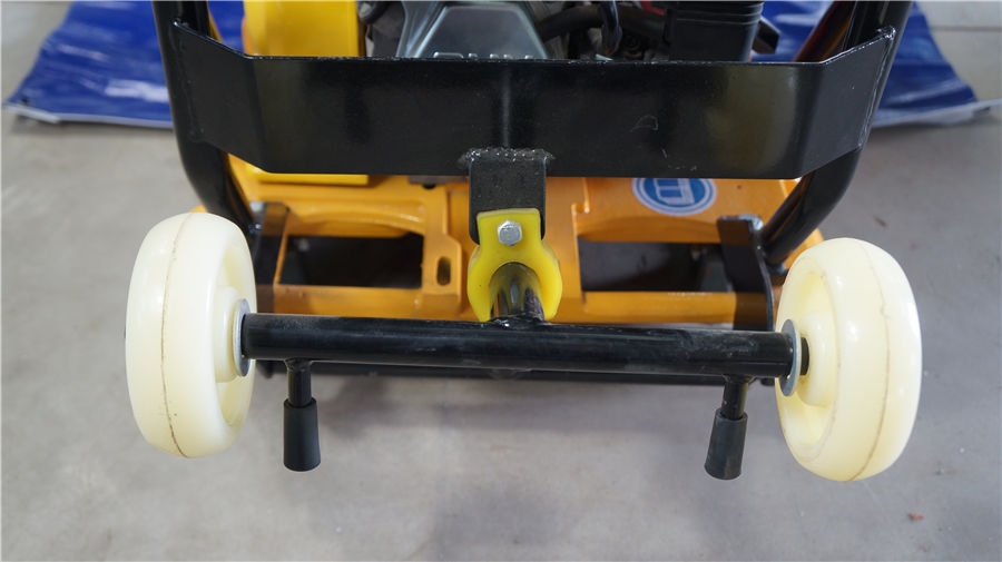 plate compactor caster