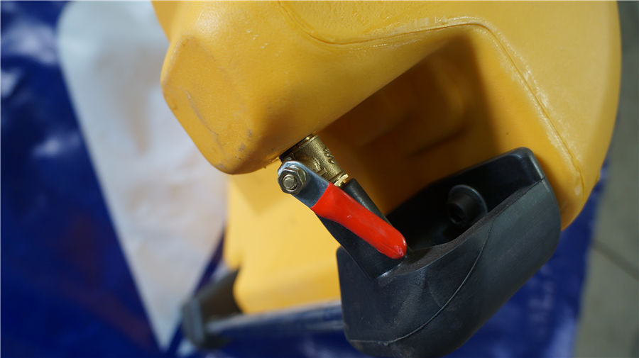 water bin valve