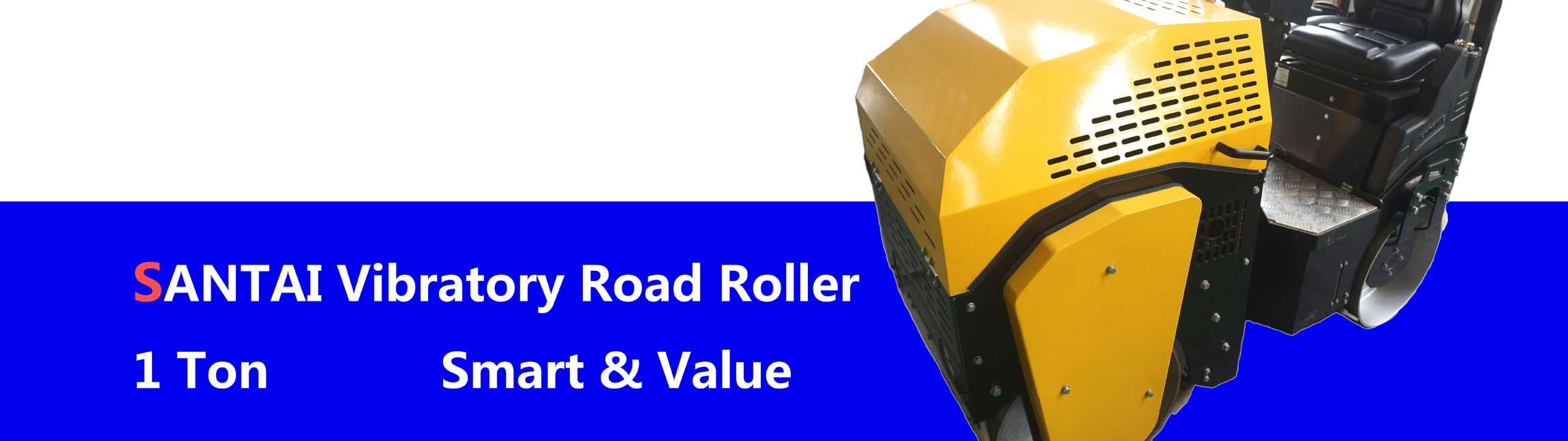 santai vibratory road rollers