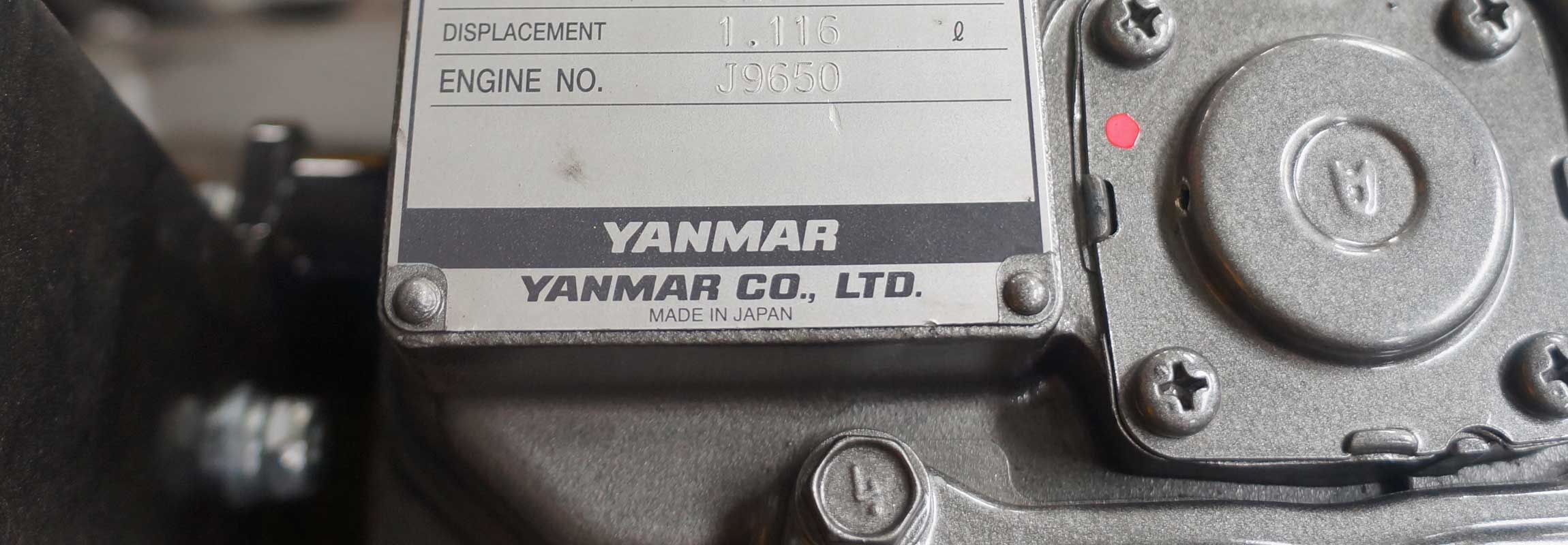 YANMAR engine for santai