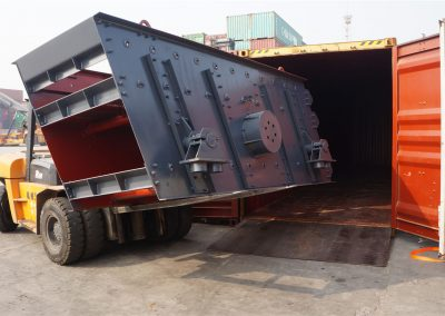 Screen of asphalt crushers