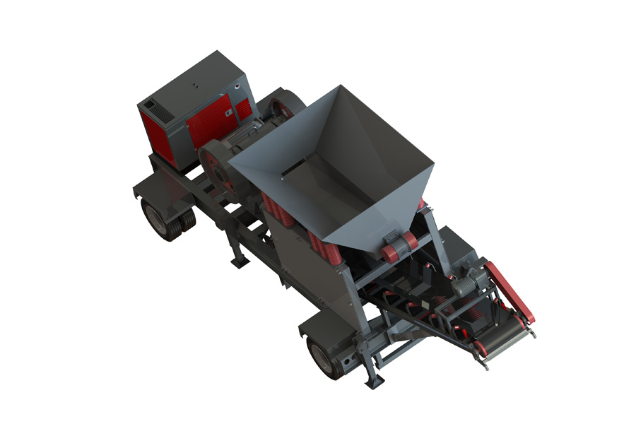 20-30 TPH Jaw Crusher plant
