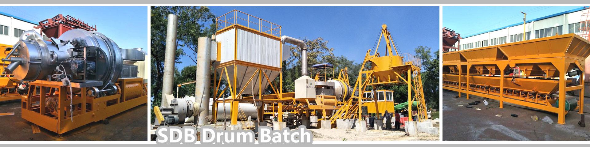 Drum batch mix asphalt plant manufacturers china