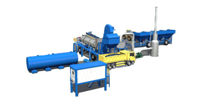 asphalt plant manufacturers-drum mix asphalt plants