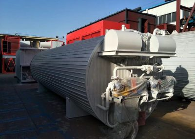 heat bitumen tank of asphalt plants