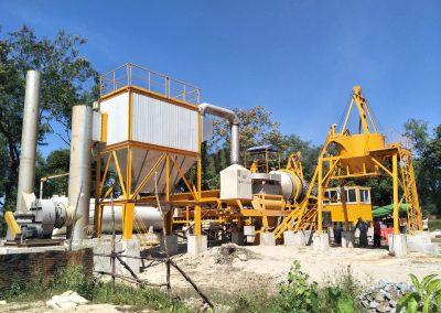 small capacity asphalt plant