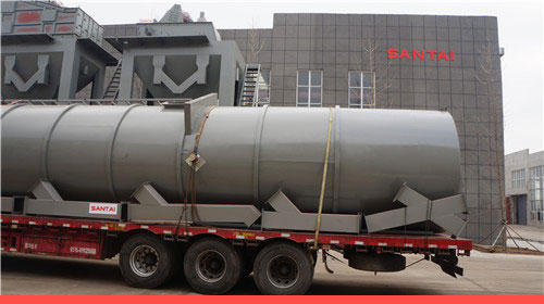 asphalt batch plant delivery