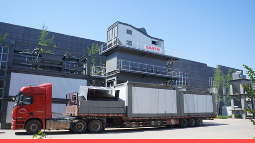 asphalt mixing plant delivery