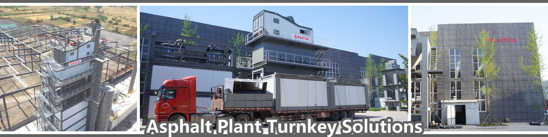 asphalt mixing plant manufacturer bidder tender turnkey solution