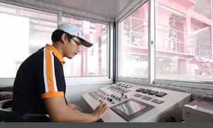 batch mix asphalt plant training operator