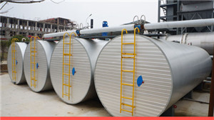 bitumen tank of asphalt batch mix asphlat plant