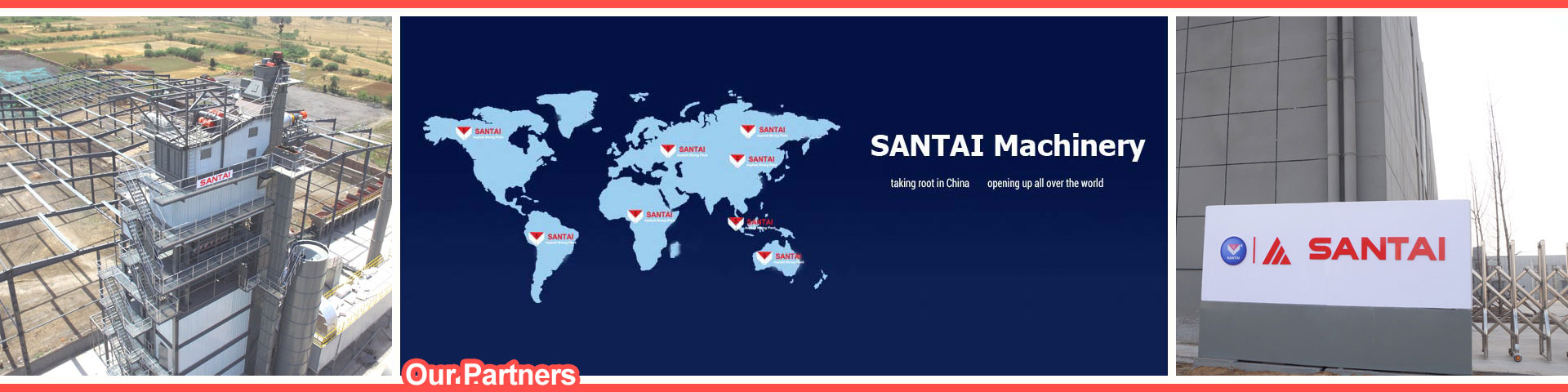 partners of asphalt plant manufacturers santai
