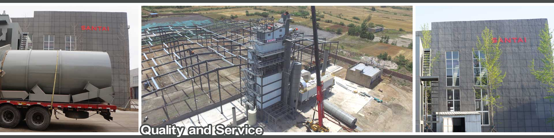quality and service from good asphalt plant manufacturer