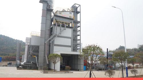 santai batch mix asphalt mixing plant manufcturer
