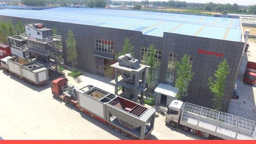santai batch mix asphalt mixing plant supplier