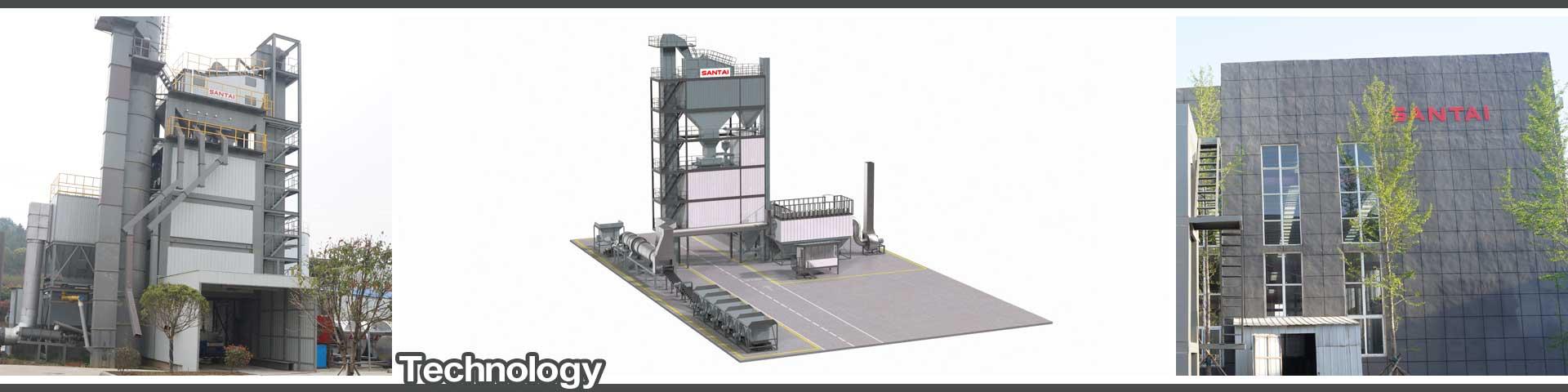 technology of asphalt mixing plant manufacturer