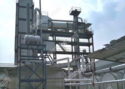 RAP asphalt plant